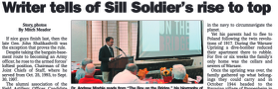 Andrew Marble Fort Sill book talk on his Gen. John Shalikashvili biography,